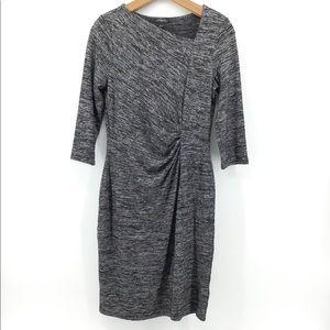 Talbots   Bodycon Cinch Waist Midi Dress